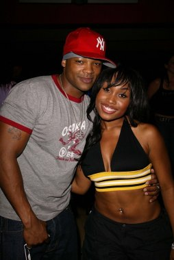 Chico Benymon and Angell Conwell