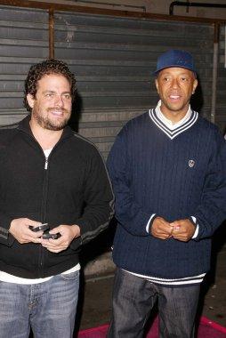 Brett Ratner and Russell Simmons