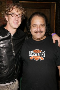 Andy and Ron Jeremy