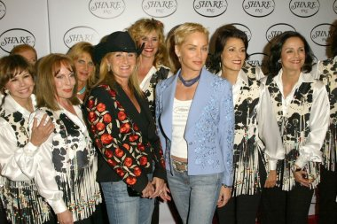 Kelly Stone Singer, Sharon Stone and friends