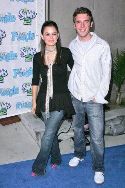 Rachel Bilson and Brett Harrison
