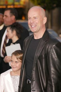 Bruce Willis and daughter Tallulah Belle Willis