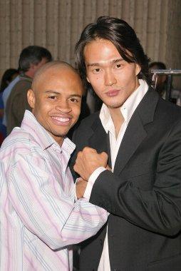 Eugene Byrd and Karl Yune