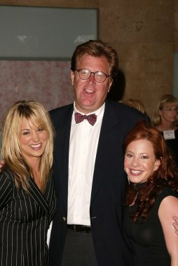 James Widdoes with Kaley Cuoco and Amy Davidson