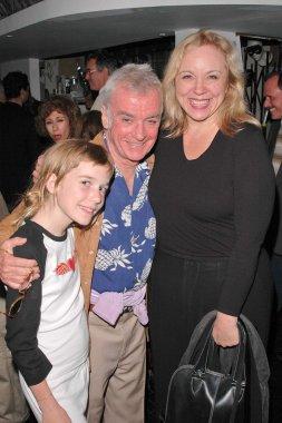 Director John Avildsen and his daughter Bridget with Brett Butler