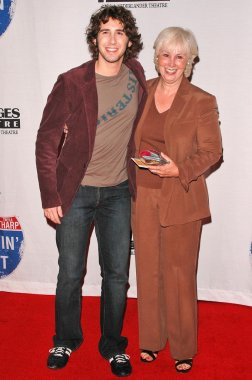 Josh Groban and mom