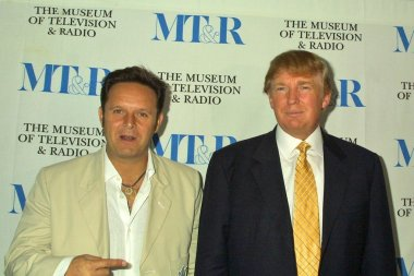 Mark Burnett and Donald Trump