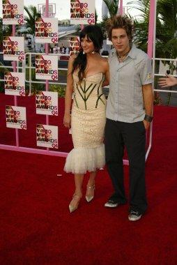 Ashlee Simpson and Ryan Cabrera