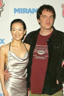Zhang Ziyi and Quentin Tarantino