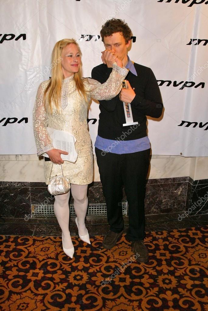 Patricia Arquette and Michel Gondry – Stock Editorial Photo
