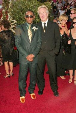 Mos Def and Alan Rickman