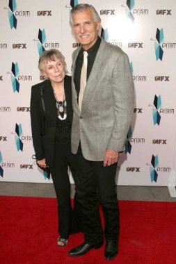 Dennis Weaver and wife Gerry