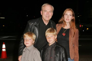 James Keach and family
