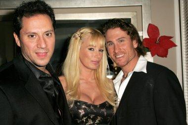 Brian Wallos with Lana Kinnear and Jonny Miller