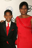Tyler James Williams and his mother