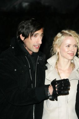 Adrien Brody and Naomi Watts
