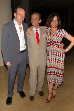 Clark Gregg with Joel Grey and Jennifer Grey