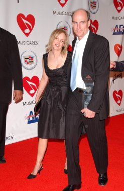 Caroline Smedvig and James Taylor at the 2006 MusiCares Person of the Year Gala. Los Angeles Convention Center, Los Angeles, CA 02-06-06