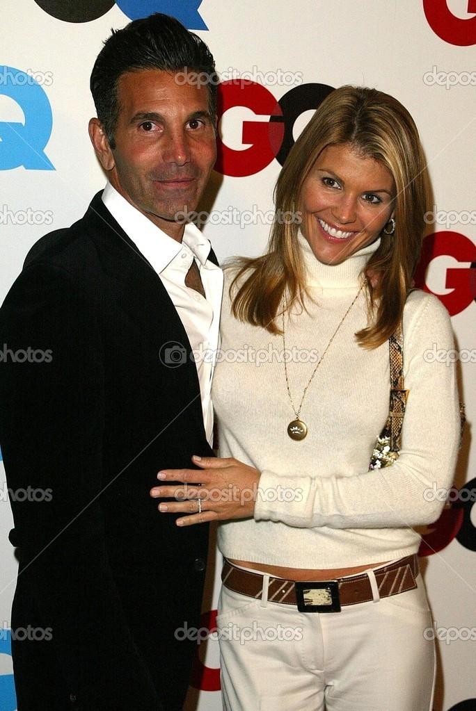 Lori Loughlin And Husband Mossimo Stock Editorial Photo