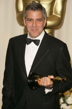George Clooney in the press room at the 78th Annual Academy Awards. Kodak Theatre, Hollywood, CA. 03-05-06