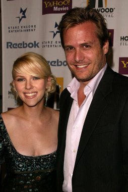 Scarlett Johansson and Gabriel Macht at The Hollywood Film Festival's Closing Night Film Gala and Premiere for