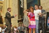 Ryan seacrest poctěn s hvězdou na Hollywoodském chodníku slávy
