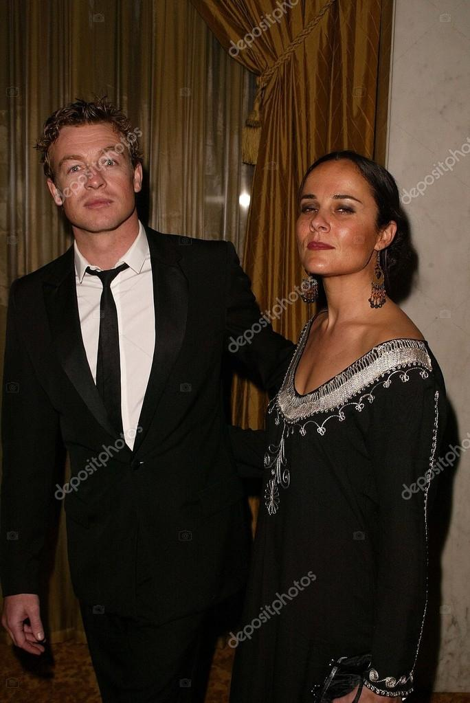 Simon Baker and wife – Stock Editorial Photo © s_bukley ...