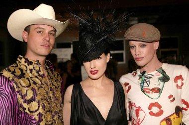 Trevar, Dita Von Teese and Richie Rich