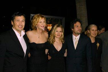 Mark Ruffalo, Meg Ryan, Jennifer Jason Leigh and Jane Campion