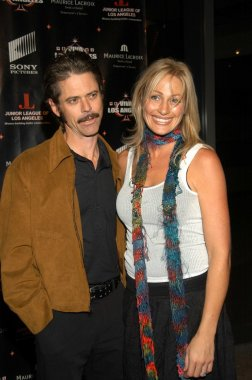 C. Thomas Howell and wife Sylvia