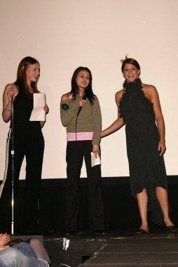 Laura Prepon, Mila Kunis and Jamie Luner