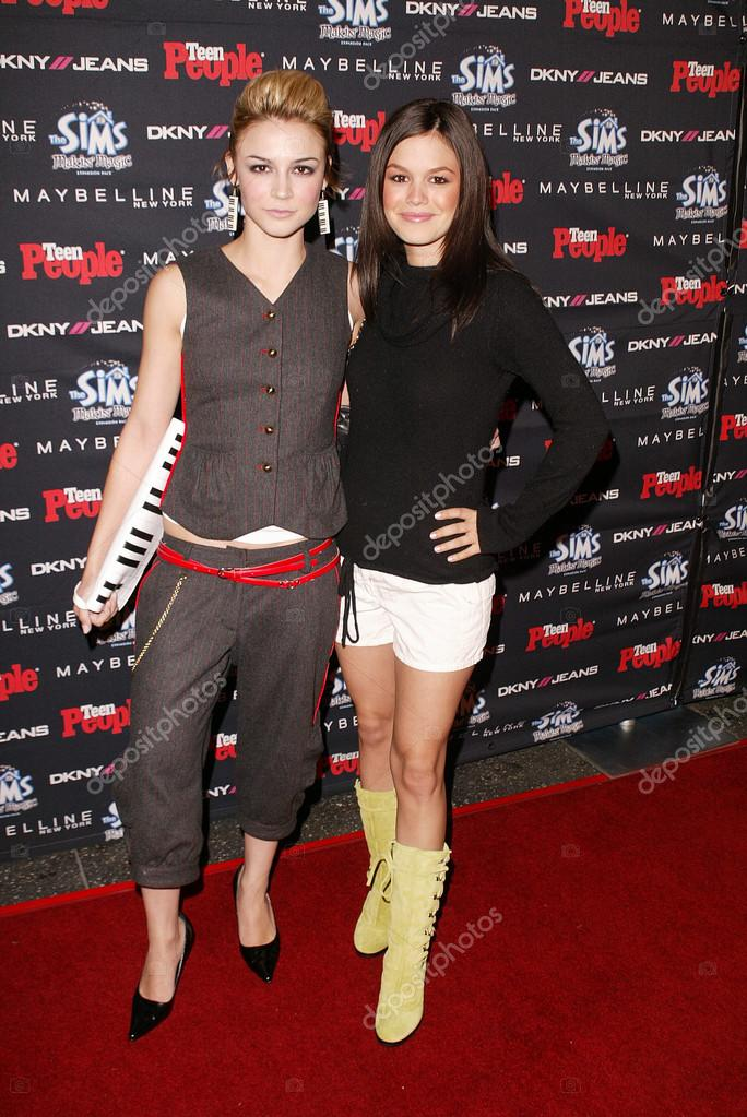 Which popular us teen show was samaire armstrong in