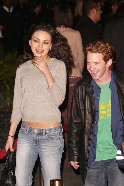Mila Kunis and Seth Green