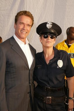 Arnold Schwarzenegger and Jamie Lee Curtis