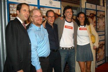 Henri Kessler, Philip Seymour Hoffman, Stanley Buchtal, Donovan Leitch and Rebecca Chaiklin