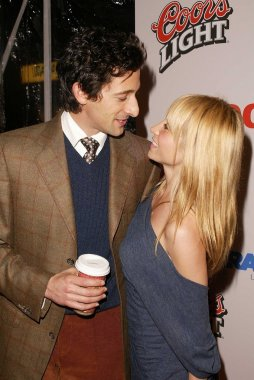 Adrien Brody and girlfriend Michelle Dupont