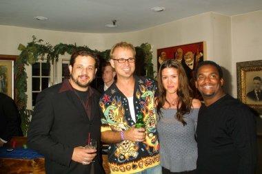 Joe Reitman, George Gray, Shannon Elizabeth and Alfonso Ribeiro