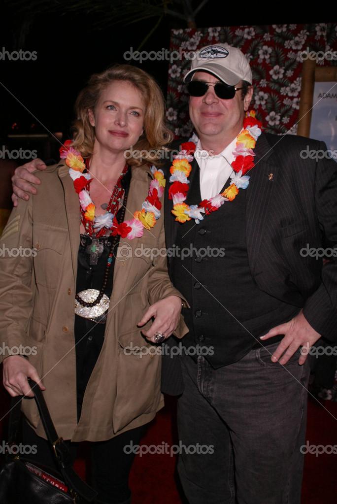 ドナ ・ ディクソンとダン ・ エイクロイド — ストック写真