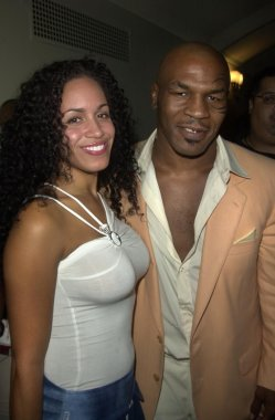 Mike Tyson and Luz Whitley