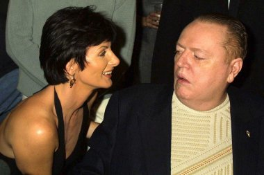 Sharon Mitchell and Larry Flynt