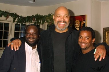 Joseph Marcell, James Avery and Alfonso Ribeiro from