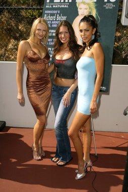 Irina Voronina, Ashley Degenford and Amy Caro