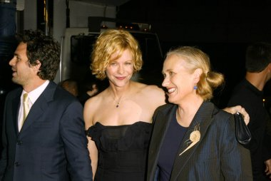 Mark Ruffalo, Meg Ryan and Jane Campion