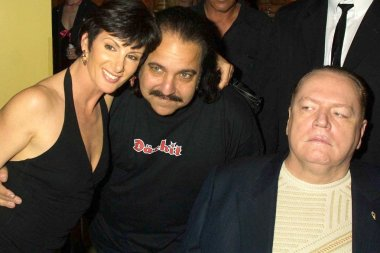 Sharon Mitchell, Ron Jeremy and Larry Flynt
