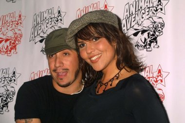 A.J. McLean and Sarah Martin