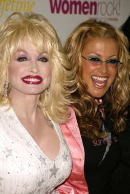 Dolly Parton and Anastacia
