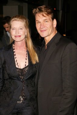 Patrick Swayze and wife Lisa