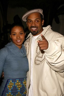 Kellita Smith and Bernie Mac