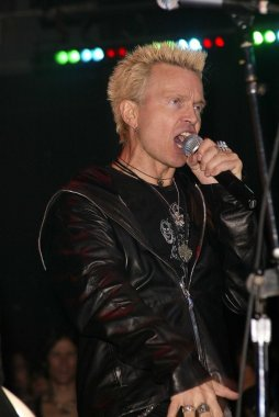 Billy Idol at Vanity Fair In Concert presented by DKNY to benefit Step Up Womens Network, Avalon, Hollywood, CA 11-15-03