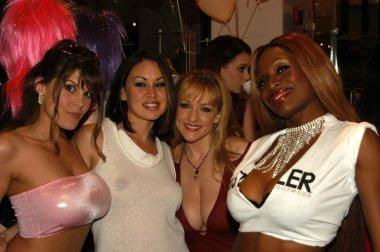 Rebecca Love, Flower, Danni Ashe and Coco